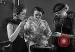 Image of models display cocktail bar gadgets Chicago Illinois USA, 1935, second 31 stock footage video 65675051632