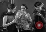 Image of models display cocktail bar gadgets Chicago Illinois USA, 1935, second 32 stock footage video 65675051632