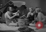 Image of models display cocktail bar gadgets Chicago Illinois USA, 1935, second 54 stock footage video 65675051632