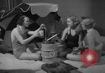 Image of models display cocktail bar gadgets Chicago Illinois USA, 1935, second 55 stock footage video 65675051632