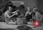 Image of models display cocktail bar gadgets Chicago Illinois USA, 1935, second 56 stock footage video 65675051632