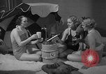 Image of models display cocktail bar gadgets Chicago Illinois USA, 1935, second 57 stock footage video 65675051632