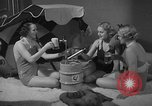 Image of models display cocktail bar gadgets Chicago Illinois USA, 1935, second 58 stock footage video 65675051632