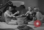 Image of models display cocktail bar gadgets Chicago Illinois USA, 1935, second 59 stock footage video 65675051632
