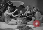 Image of models display cocktail bar gadgets Chicago Illinois USA, 1935, second 61 stock footage video 65675051632