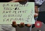 Image of Victory over Japan day Honolulu Hawaii USA, 1945, second 5 stock footage video 65675051648