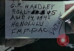 Image of Victory over Japan day Honolulu Hawaii USA, 1945, second 4 stock footage video 65675051649
