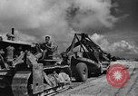 Image of Expansion of airfield Saipan Marianas Islands, 1944, second 18 stock footage video 65675051687