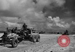 Image of Expansion of airfield Saipan Marianas Islands, 1944, second 31 stock footage video 65675051687