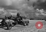 Image of Expansion of airfield Saipan Marianas Islands, 1944, second 32 stock footage video 65675051687