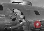 Image of B-29 Super Fortress Saipan Marianas Islands, 1944, second 9 stock footage video 65675051690