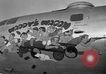 Image of B-29 Super Fortress Saipan Marianas Islands, 1944, second 35 stock footage video 65675051690