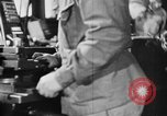 Image of Japanese workers in munitions factories Japan, 1943, second 49 stock footage video 65675051698