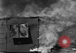 Image of Testing effectiveness of incendiary bombing Florida United States USA, 1945, second 30 stock footage video 65675051709