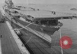 Image of Essex class aircraft carrier United States USA, 1942, second 5 stock footage video 65675051751
