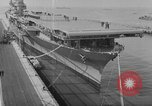 Image of Essex class aircraft carrier United States USA, 1942, second 7 stock footage video 65675051751