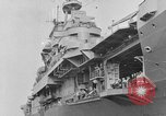 Image of Essex class aircraft carrier United States USA, 1942, second 22 stock footage video 65675051751