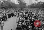 Image of Americans celebrate citizenship during World War II New York City USA, 1943, second 19 stock footage video 65675051753