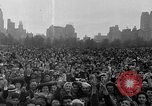Image of Americans celebrate citizenship during World War II New York City USA, 1943, second 35 stock footage video 65675051753