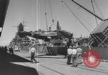 Image of Lend-Lease war materiel at ports in the United States Europe, 1943, second 14 stock footage video 65675051755