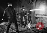 Image of steel workers and steel mill Youngstown Ohio USA, 1944, second 3 stock footage video 65675051762