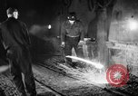 Image of steel workers and steel mill Youngstown Ohio USA, 1944, second 4 stock footage video 65675051762