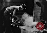 Image of steel workers and steel mill Youngstown Ohio USA, 1944, second 27 stock footage video 65675051762