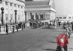 Image of Franklin D Roosevelt's funeral procession Washington DC USA, 1945, second 1 stock footage video 65675051764