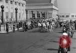 Image of Franklin D Roosevelt's funeral procession Washington DC USA, 1945, second 7 stock footage video 65675051764
