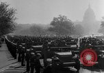 Image of Franklin D Roosevelt's funeral procession Washington DC USA, 1945, second 40 stock footage video 65675051764