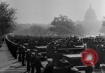 Image of Franklin D Roosevelt's funeral procession Washington DC USA, 1945, second 42 stock footage video 65675051764