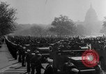 Image of Franklin D Roosevelt's funeral procession Washington DC USA, 1945, second 43 stock footage video 65675051764