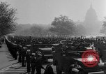 Image of Franklin D Roosevelt's funeral procession Washington DC USA, 1945, second 44 stock footage video 65675051764