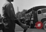 Image of Franklin D Roosevelt's funeral procession Washington DC USA, 1945, second 55 stock footage video 65675051764