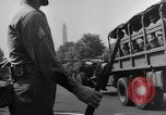 Image of Franklin D Roosevelt's funeral procession Washington DC USA, 1945, second 57 stock footage video 65675051764