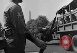 Image of Franklin D Roosevelt's funeral procession Washington DC USA, 1945, second 58 stock footage video 65675051764