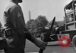 Image of Franklin D Roosevelt's funeral procession Washington DC USA, 1945, second 59 stock footage video 65675051764