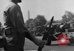 Image of Franklin D Roosevelt's funeral procession Washington DC USA, 1945, second 60 stock footage video 65675051764