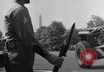 Image of Franklin D Roosevelt's funeral procession Washington DC USA, 1945, second 62 stock footage video 65675051764