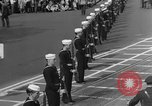 Image of Franklin D Roosevelt's funeral procession Washington DC USA, 1945, second 10 stock footage video 65675051765