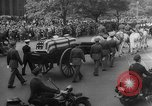Image of Franklin D Roosevelt's funeral procession Washington DC USA, 1945, second 18 stock footage video 65675051765