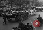 Image of Franklin D Roosevelt's funeral procession Washington DC USA, 1945, second 19 stock footage video 65675051765