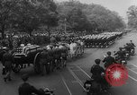 Image of Franklin D Roosevelt's funeral procession Washington DC USA, 1945, second 21 stock footage video 65675051765