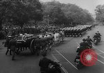 Image of Franklin D Roosevelt's funeral procession Washington DC USA, 1945, second 22 stock footage video 65675051765