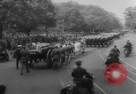 Image of Franklin D Roosevelt's funeral procession Washington DC USA, 1945, second 23 stock footage video 65675051765