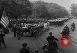 Image of Franklin D Roosevelt's funeral procession Washington DC USA, 1945, second 24 stock footage video 65675051765