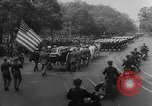 Image of Franklin D Roosevelt's funeral procession Washington DC USA, 1945, second 25 stock footage video 65675051765