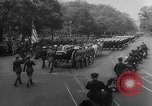 Image of Franklin D Roosevelt's funeral procession Washington DC USA, 1945, second 26 stock footage video 65675051765