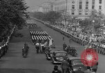 Image of Franklin D Roosevelt's funeral procession Washington DC USA, 1945, second 36 stock footage video 65675051765