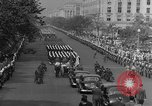 Image of Franklin D Roosevelt's funeral procession Washington DC USA, 1945, second 37 stock footage video 65675051765